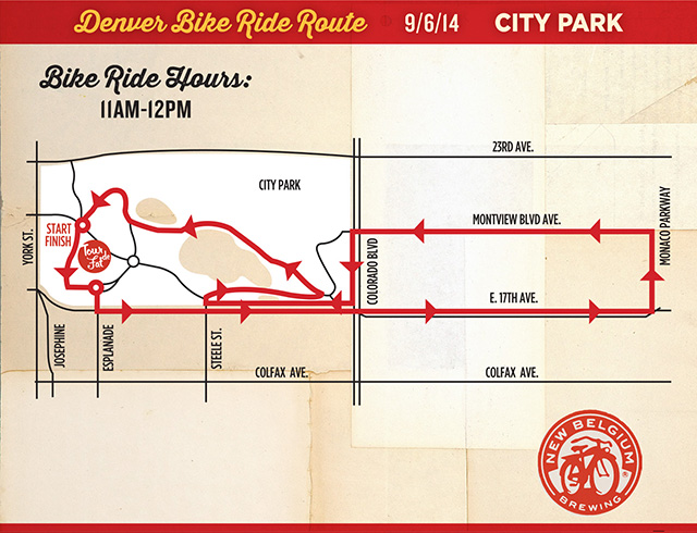 Parade Route Handbill Denver1
